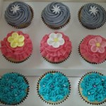 Colourful Birthday Cupcakes